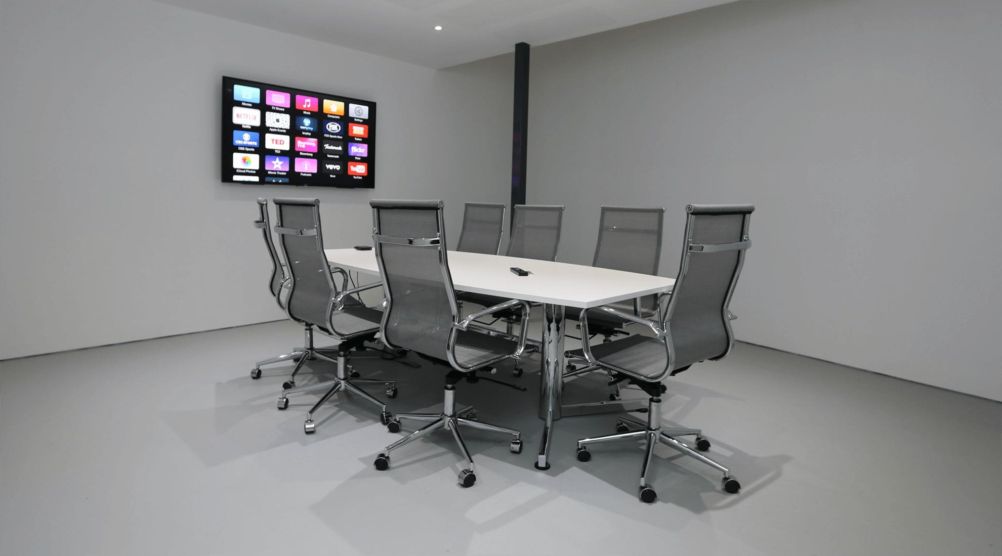 Garage Studios Boardroom Facilities