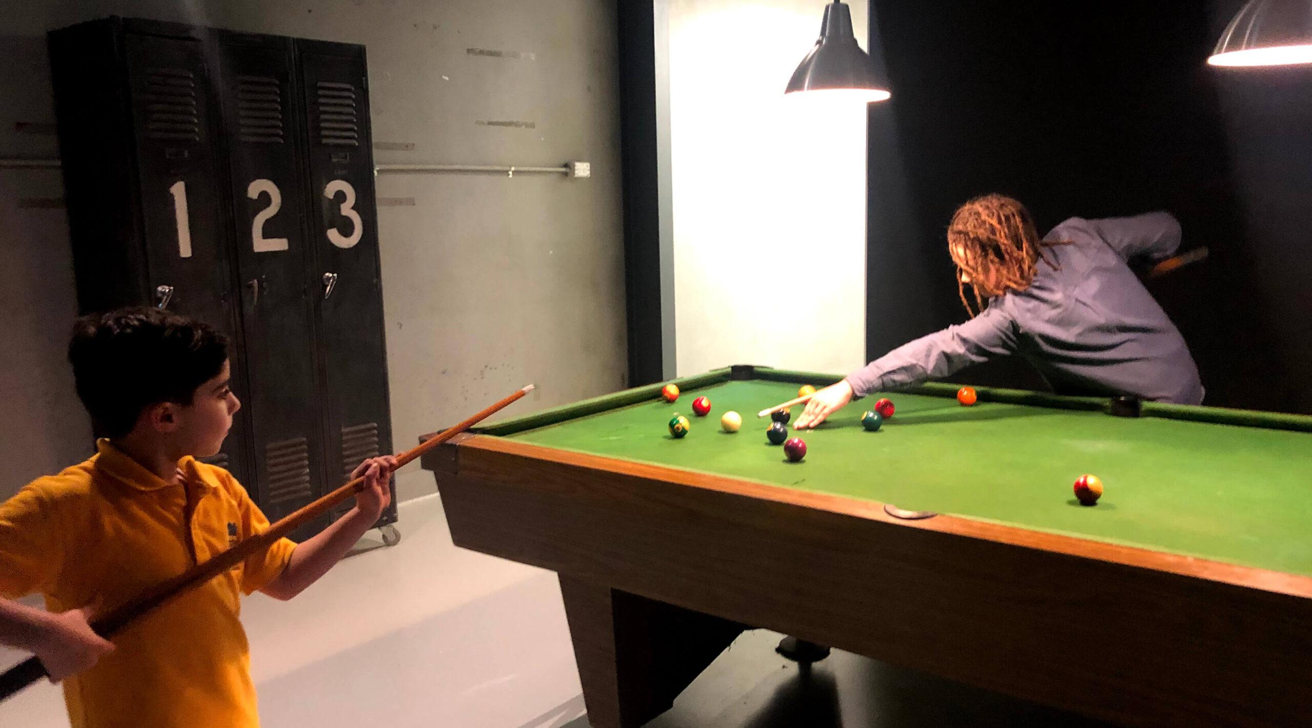 Garage Studios Bpool table